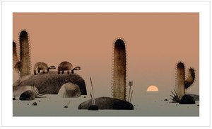 Jon Klassen Print - We Found a Hat
