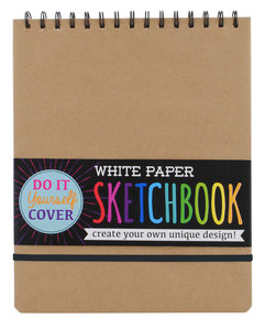 White Paper Spiral Sketchbook