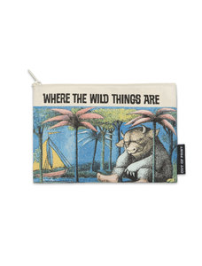 Wild Things Canvas Pouch