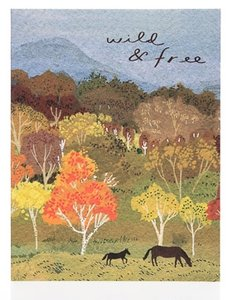 Wild and Free Card