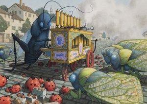 David Wiesner Notecard - Bugs