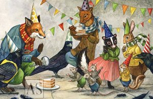 Celebrate with Hector Fox and Friends Cards