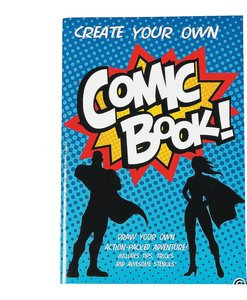 Create Your Own Comic Book Activity Pad