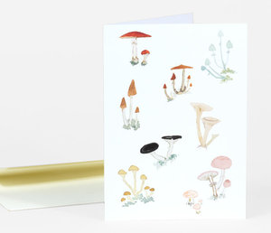Emily Winfield MArtin Ivo's Mushrooms Card