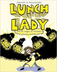 Lunch Lady #2 The League of Librarians - Autographed Hardcover