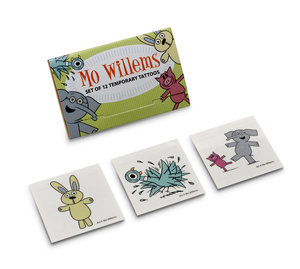 Mo Willems Temporary Tattoo Set