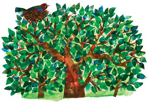 Eric Carle Tree Limited Edition Print