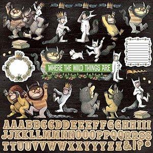 Where the Wild Things Are Cardstock Stickers