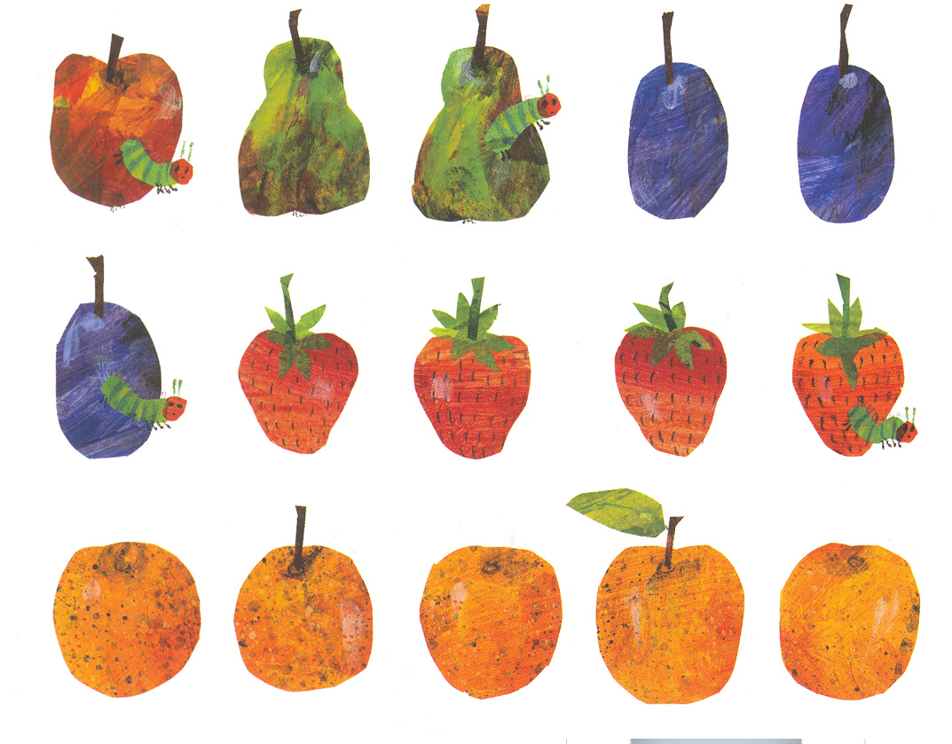Invitations thank you notes the eric carle museum of picture eric carle postcard fruit filmwisefo