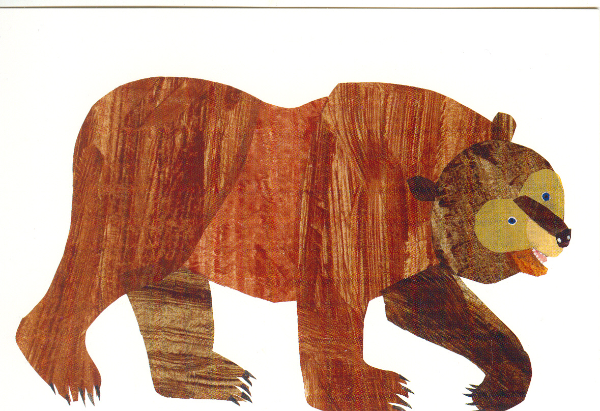 Brown Bear Party | The Eric Carle Museum of Picture Book Art