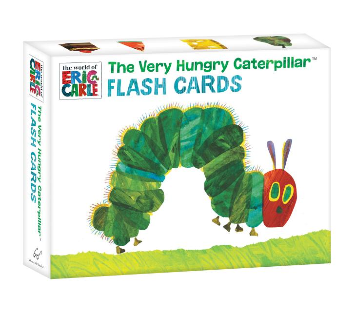 Very Hungry Caterpillar Flash Cards | The Eric Carle Museum of Picture ...
