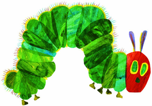 Cards Stickers – Hungry Caterpillar Birthday Card