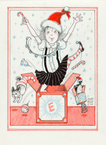 Christmas Notecard.Eloise Christmas Notecard Set The Eric Carle Museum Of Picture