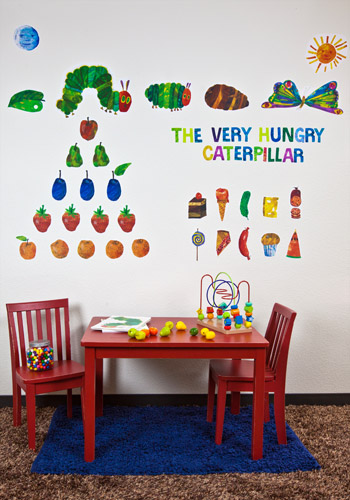 Very Hungry Caterpillar Peel U0026 Place Decals Part 4