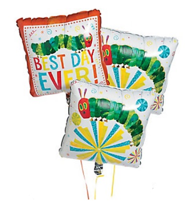 Party decorations the eric carle museum of picture book art for Balloon decoration book